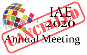 IAE 2020 Meeting Cancellation image
